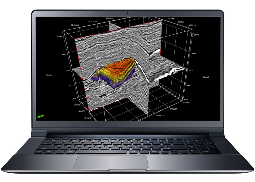 Seismic visualization with INTViewer
