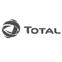 Total logo in black and white