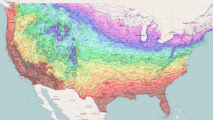 Interactive DD Demo Gallery INT Data Visualization Software - Us map number of days of sunshine