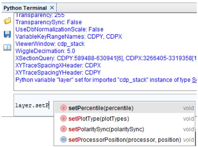 Python Contextual Menu