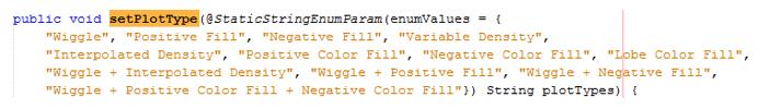 Python StaticStringEnumParam annotation