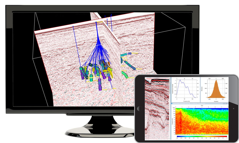 GeoToolkit-Seismic-WellLog-Visualization