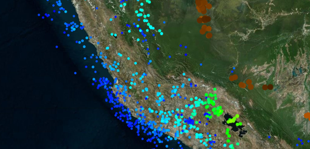 INTViewer visualizes seismic data from earthquakes