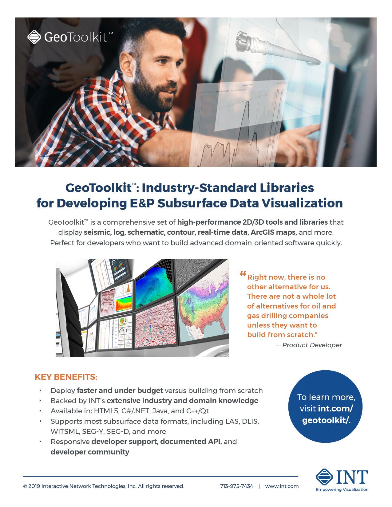 GeoToolkit brochure