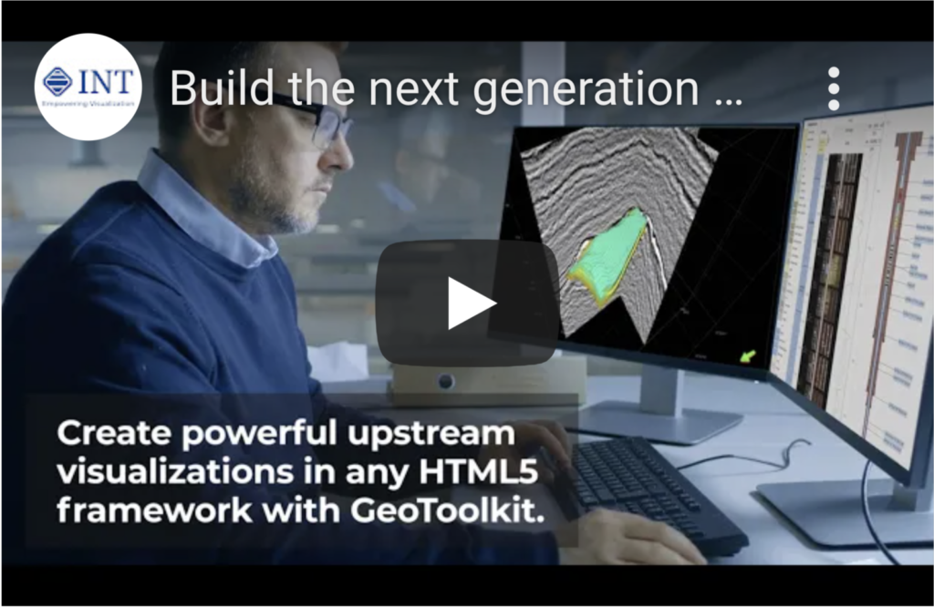 Build the next generation of G&G and petrophysical HTML5 data visualization