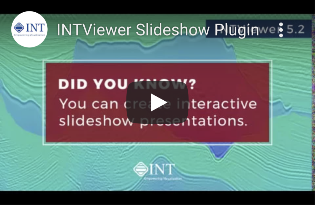 INTViewer Slideshow Plugin