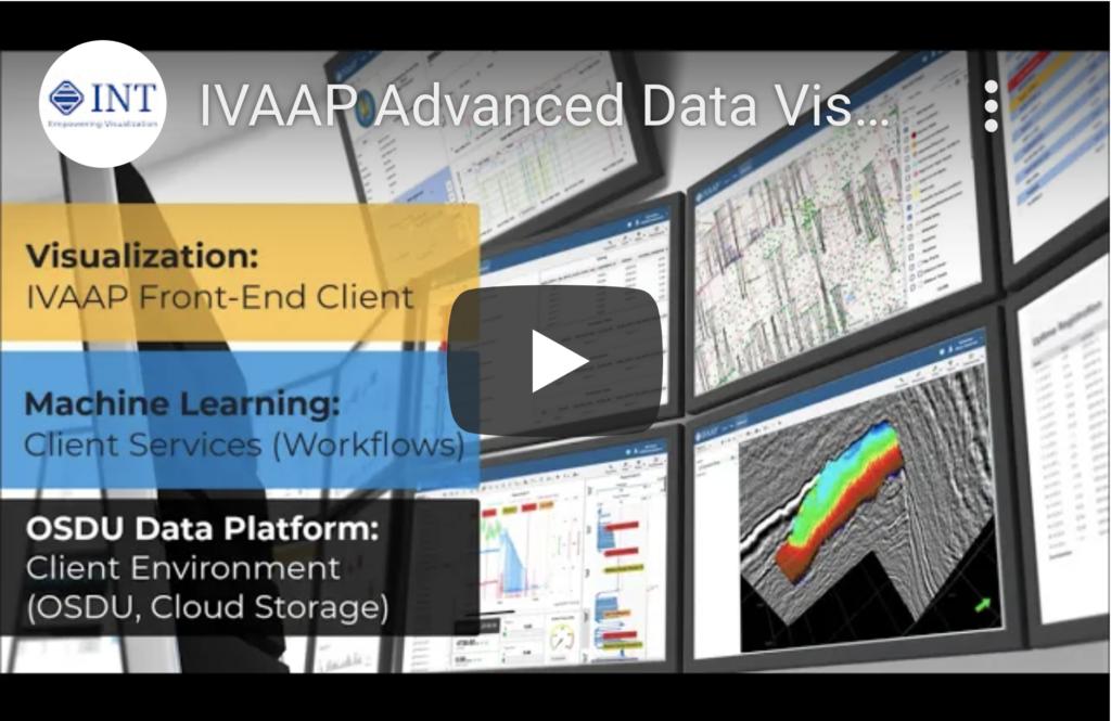 IVAAP Visualization on OSDU R3 (Mercury)