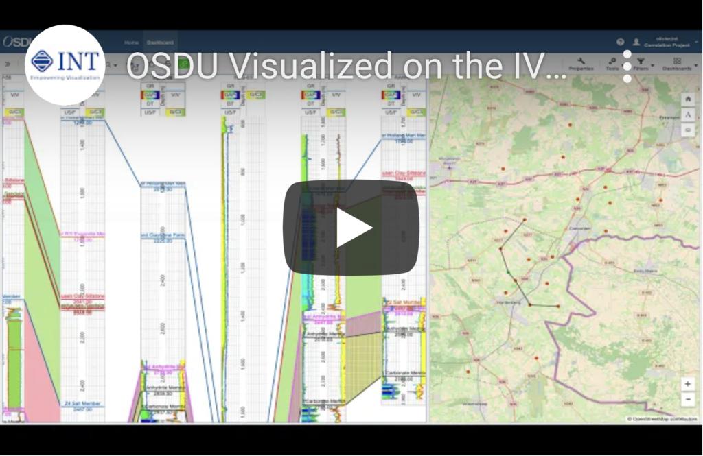 OSDU Visualized on the IVAAP Platform