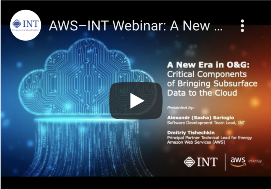 Webinar: A New Era in O&G: Critical Components of Bringing Subsurface Data to the Cloud