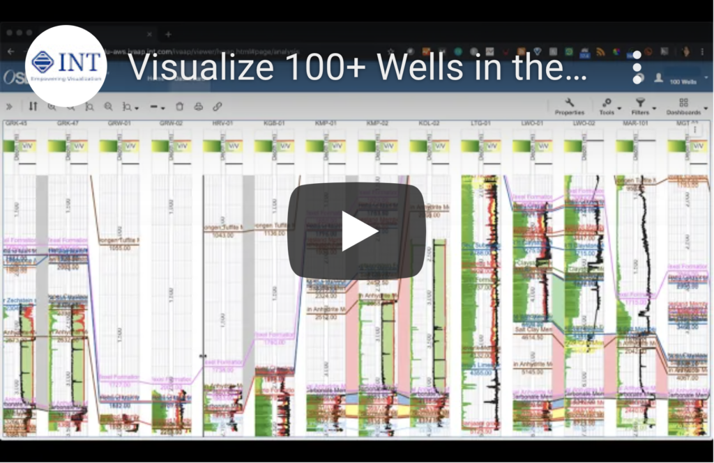 Visualize 100+ Wells in the Cloud with IVAAP, OSDU, and AWS