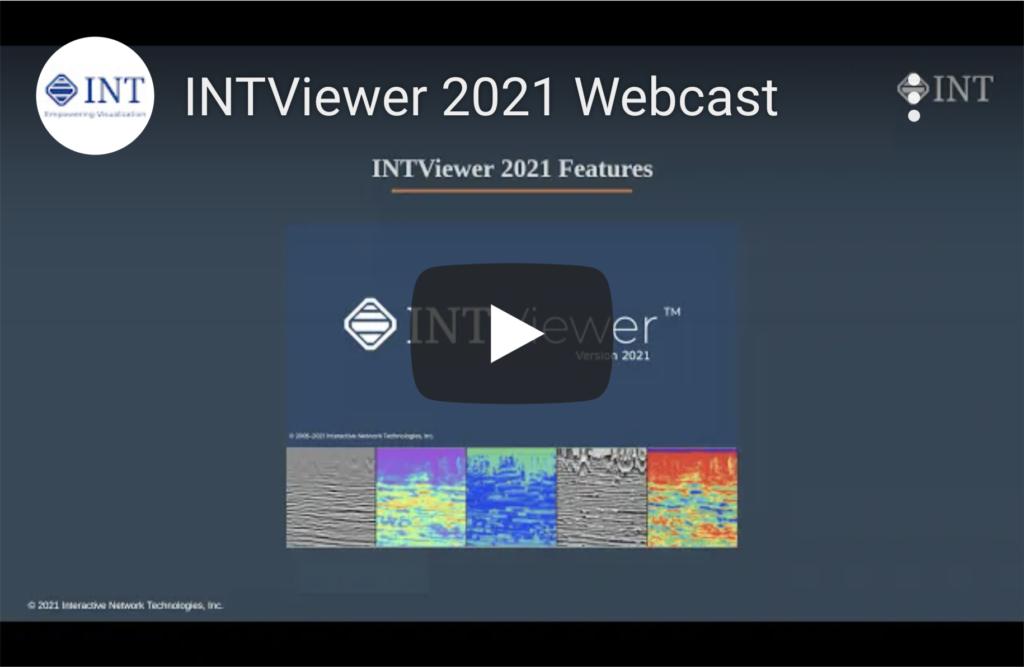 Webinar INTViewer 2021